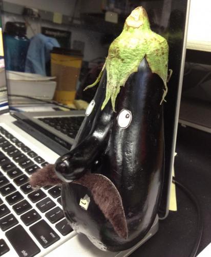 Mr.Eggplant Mustache